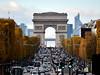 Down the Champs-Élysées, Paris, France (Ultrapurple) Tags: paris d850 champsélysées arcdetriomphe road traffic landmark monument iconic trafficlights