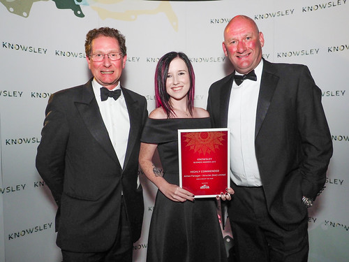 Employee of the Year Highly Commended - Aimee Flanagan, Structec (NW) Limited