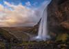 Majestic Seljalandfoss (Toni_pb) Tags: iceland islandia seljalandfoss waterfall water waterscape winter wild fall sunset nikon nature nikkor142428 paisaje panorama panoramica pano panoramic landscape minimalist mystic winterscape