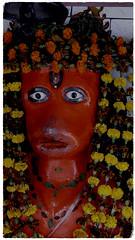 (ben oït) Tags: statue sculpture red rouge hindu hindou kali kalighat kolkata calcutta