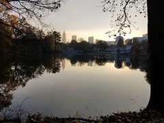 Walks Piedmont Park - 02 (Laura Grace) Tags: 2017 afternoon autumn fall lake lakeclarameer november piedmontpark reflections solowalkshikes walksandhikes water