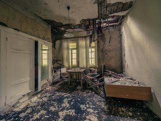 Abandoned school of osteopathy
