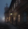 journey together (cherryspicks (off)) Tags: people women building architecture travel fog mist street urban historic tvrđa osijek citadel croatia windows night light lamp mood evening journey together wishihadahasselblad