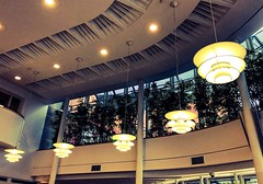 The British Library (Mike Turner) Tags: iphone iphonex britishlibrary thebritishlibrary library nationallibrary kingslibrary georgeiii study studying librarian euston london camden history museum artefacts terracerestaurant architecture lights