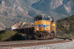DSC_7257, Cajon Pass, CA. March 21, 2012 (Rkap10) Tags: c45accte california importedtags locomotives other unionpacific railroad