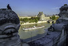 The Louvre across the Siene (Tony Tomlin) Tags: paris france europe siene river boar thelouvre
