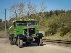 Beamish 2017 (Ben Matthews1992) Tags: gnsf great north northern steam fair beamish museum old vintage historic preserved preservation vehicle transport haulage dys319 scammell ritchie t