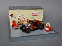 1932 Ford Hot Rod (-Wat-) Tags: lego car ford 1932 hotrod vehicle racing