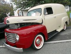 1949 Ford F-1 Panel (splattergraphics) Tags: 1949 ford f1 panel truck custom carshow ridgelypharmacycarshow ridgelyrailroadpark ridgelymd