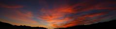Sunset 10 20 17 #14 Panorama e (Az Skies Photography) Tags: sun set sunset dusk twilight nightfall sky skyline skyscape arizona az rio rico riorico rioricoaz arizonasky arizonaskyline arizonaskyscape arizonasunset cloud clouds red orange yellow gold golden salmon black october 20 2017 october202017 102017 10202017 canon eos 80d canoneos80d eos80d panorama