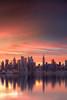 Sunrise over Manhattan (_B_G_D_) Tags: weehawken newjersey unitedstates us canon canon5dmarkiv haida induro luminositymasks 2470mm f28 ii clouds reflection water sky landscape manhattan nyc newyork empirestate