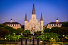 Saint Louis Cathedral, Jackson Square, New Orleans (Paddy O) Tags: frenchquarter bluehour sunrise cathedral church neworleans dawn nola 2017 saintloiuscathedral jacksonsquare