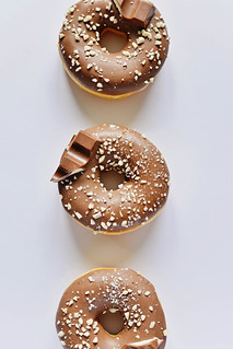 Donuts mit Kinderschokolade