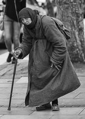 Mendicant (Frank Fullard) Tags: frankfullard fullard candid street portrait professional beggar dublin ireland police garda mover