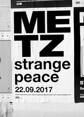 Metz (knightbefore_99) Tags: poster metz band album new wall bw black white toronto loud metal great awesome canada cool
