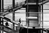 Carrying a pair of glasses (laga2001) Tags: shadow shadowplay light person people human stairs staircase building street streetphoto streetphotography monochrome black white bnw bw