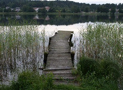 pier (helena.e) Tags: helenae brygga pier gerdsken sjö lake water vatten vass