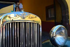 Austin 12 radiator (dreamtwister82) Tags: funchal madeira portugal ciudad city cidade st james fort fortaleza de são tiago castillo santiago classic car coche clasico
