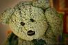 Itchy Ear (HTBT) (13skies) Tags: itch scratch problem annoyance teddybear happyteddybeartuesday tuesday greenbear htbt helping