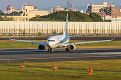 JA67AN, Boeing 737-881 All Nippon Airways @ Osaka-Itami ITM (LaKi-photography) Tags: flugzeug jet plane aircraft avion aviation aviación luftfahrt flughafen aeroporto aeropuerto aerolínea airline fluggesellschaft ana allnipponairways japan nippon airport honshu boeing boeing737 737 osaka itami itm spotting