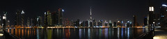 Panorama Dubai (Marwanhaddad) Tags: dubai panorama night nightphotography nightscape travel