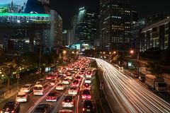 Vibrance (technodude67) Tags: architecture asia bangkok cityscape landscape longexposure night street th thailand travel
