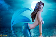 Statue Sideshow The Little mermaid / la petite sirène (Shady_77) Tags: littlemermaid statue figurine sideshow jscottcampbell campbell lapetitesirène