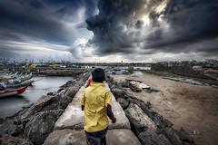 Monsoon Days... (aestheticsguy2004) Tags: landscapephotography landscape cloudy sky monsoonday monsoon chennairain chennai2017 chennaikasimedu kasimedu kidsplay kidsjoy dramticclouds rainyclouds rainyday rain climatechange weather chennairain2017 nem eveningskycolors eveningcolors neeteshphotography nikond750tamron1530 nikond750 nikonasia nikondslr nikonfullframe nikonindia nikkor tamronm1530 tamron tamronwidelens tamronvc28 ngc chennai northmadras northchennai vadachennai madras southindia southindianbeach travelindia travellandscape travelphotography tamilnadu horrorclouds