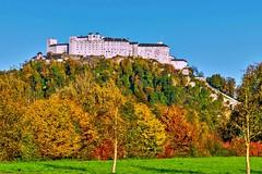 The Fortress Hohensalzburg (a7m2) Tags: fortress history salzburg mountain building mönchsberg castle travel tourismus austria