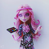 Viperine - make up master (KT▲Kate_and_Tanya) Tags: monster high viperine gorgon frights camera action doll dolls mattel kt