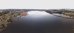 Kroppkärrssjön, looking east (krissen) Tags: kroppkärrssjön karlstad dji inspire djiinspire inspire1 drones aerial lake sweden värmland autumn landscape