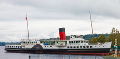 PS Maid of the Loch: Boats on Loch Lomond - August 2011 (NorrieP) Tags: lochlomond scotland 2011 maidoftheloch paddlesteamer ajinglis