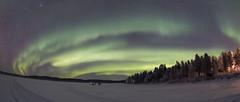 aurora 2 16.11.2017 (Hotel Korpikartano) Tags: revontulet auroraborealis aurora northernlights northernfinland inarilapland laplandfinland lapland lake korpikartanofi menesjarvi