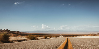 Road from Twentynine Palms to Amboy in California...