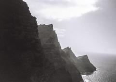 Mountains at Gran Canaria (Oohtheaction) Tags: autaut montains grancanaria spain spanje espana montes sea zee kodak kodaktrix trix leica leicacamera leicaminilux zwartwit zwartwitbestaatniet travel filmisnotdead buyfilmnotmegapixels buymorefilm analog analogue analoog analogueisnotdead 35mmfilm 35to220