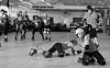 ravenclaw_vs_slytherin_L2018576 (nocklebeast) Tags: skates rollerderby rollergirls santacruzderbygirls hogwartscup ravenclaw slytherin scottsvalley ca usa