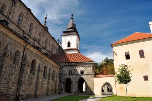 Trebic, Schloss und Basilika St. Prokop
