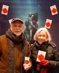 It's Always About Having Fun - Thank You Justin's and The New York Times Film Club (The Pop Bag) Tags: specialevent theshapeofwater guillermodeltoro organic nongmo healthy snacks beverages drinks hydration nutrients justins drinktreo milkchocolate whitechocolate darkchocolate peach mango strawberry coconut pineaple birch water fruit drink chocolate newyorktimes film club fun excitement display pretty awesome amazing chelseanyc cinepolisusa newyork newyorkcity nyc popbag thepopbag happy adorable couple love smiles smiling groupshot