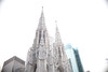 (John Donges) Tags: newyorkcity fifthavenue 5thavenue buildings skyscrapers urban stpatrickscathedral neogothic church 0528