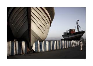 The great ship. ( Essaouira )