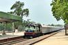 13285 KJM WDG3A CAR CARIER (TheRailzone) Tags: wdg3a roro konkan railways indian alco luxury train golden chariot