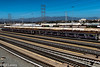 Trains & Tracks Union Station Los Angeles (informalphotography) Tags: dtla losangelesdowntown unionstation mountains powerlines tracks trains