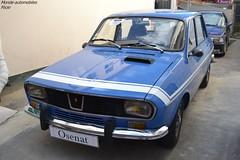 Renault 12 Gordini 1972 (Monde-Auto Passion Photos) Tags: voiture vehicule auto automobile renault r12 gordini berline bleu ancienne classique rare rareté evenement vente enchère osenat france fontainebleau