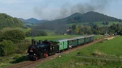 2011-09-25 Old Steam Locomotive... (beranekp) Tags: czech railway eisenbahn železnice landscape landschaft locomotive lokomotive steam dampf