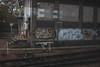 Tisko C2B (lanciendugaz) Tags: graffiti graff tag graffitis tags street art streetart vf voies ferrés tours 37 spray spraycan chrome negatif block lettrage couleur black gare sncf tisko tisco