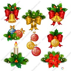 Christmas festive ornaments icons set. Decoration from christmas (everythingisfivedollar) Tags: classic christmas vintage christmastree background design cover christmasshopping holidaysale newyearsale vector set new tree year ornament xmas ball icon element symbol fir holiday ornaments bell season bow card green red decoration branch decor spruce star celebration evergreen holly pine decorative retro hang bauble congratulate prickly ornate glass leaf gold ribbon greeting traditional berry composition festive december isolated