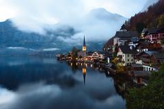 Hallstatt (renan4) Tags: alps europe travel trip lake moutains landscape nikon d800 1635mm reflection water renan4 renan gicquel austria salzburg hallstatt morning