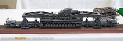 "B2 - ""Karl-Gerät"" (040/041) on rail transporter - Geoff Warren"