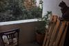 Balcony first thing (Melissa Maples) Tags: istanbul turkey türkiye asia 土耳其 apple iphone iphone6 cameraphone kadıköy caferağa moda animals kitties cats blackie spock chair balcony