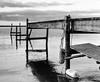 11960010 (stevemccaffrey) Tags: toronto ontario lakeontario lake city water blackandwhite monochrome kodaktrix400 film mamiya rz67 dock